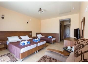 Стандарт 3-местный | Курортный отель «Славянка»| Анапа
