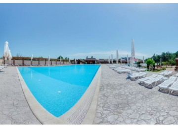 Открытые бассейны в курортном отеле Славянка (Slavyanka Hotel) Анапа
